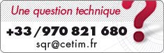 Une question technique, contactez le Cetim : +33 970 821 680