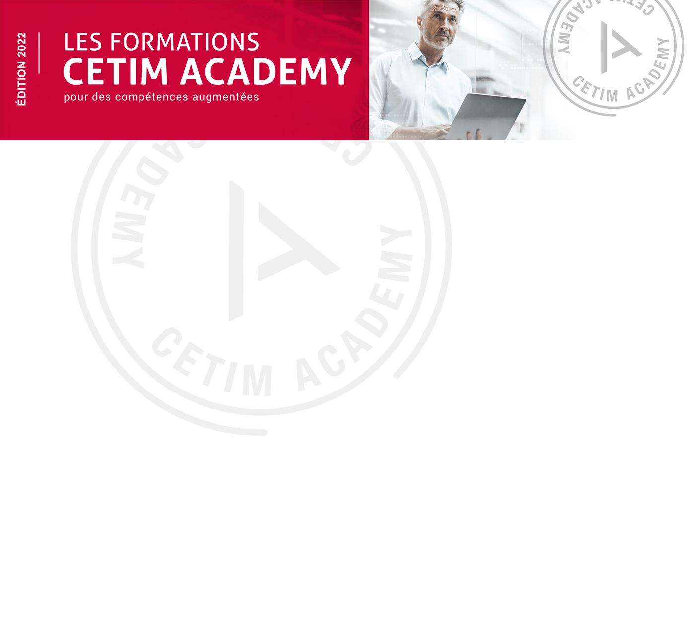 Cetim catalogue Formations 2022