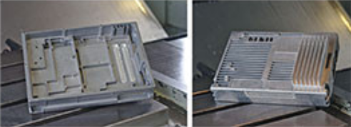 Soudage par friction-malaxage des ailettes de refroidissement sur un boîtier électronique