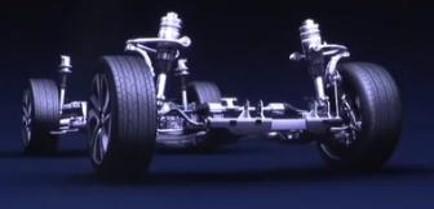 Châssis aluminium de la NIO ES8 électrique