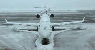 Cet avion n'avait pas son revêtement anti-glace ! (université du Michigan, US)