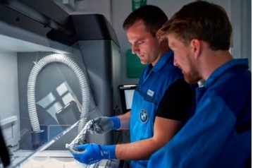 BMW: 200 000 pièces de fabrication additive en 2019