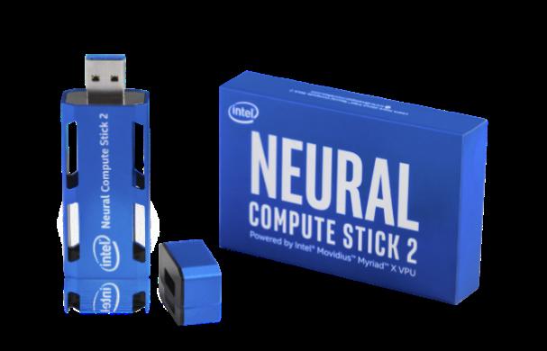 Processeur « Intel Neural Compute Stick 2 (NCS) » dédié à l'edge computing
